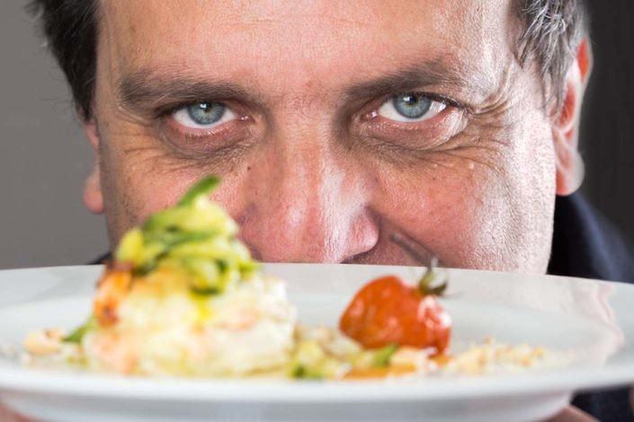 Ritratto Giampiero La Rosa - La Trave Catering