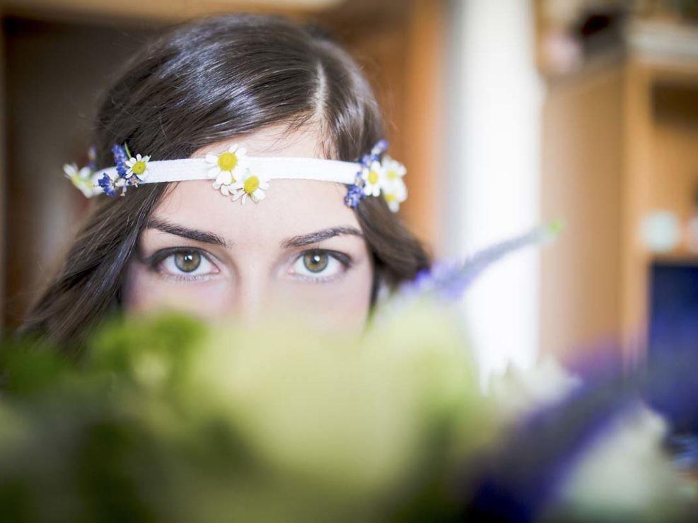fotografia di matrimonio - dettaglio sposa Valentina